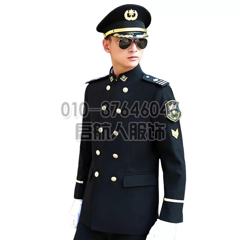 【定做】保安服短袖夏装物业房产酒店大气形象岗礼宾服制服套装