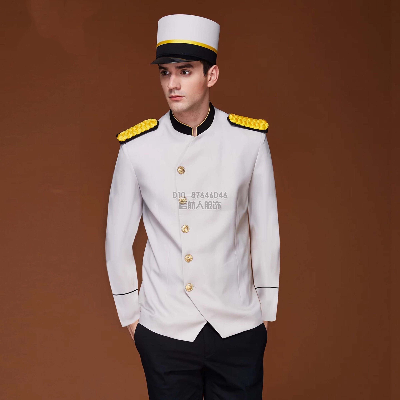 定做夏季酒店乐动体育官网入口饭店餐厅服务员前厅制服短袖工服