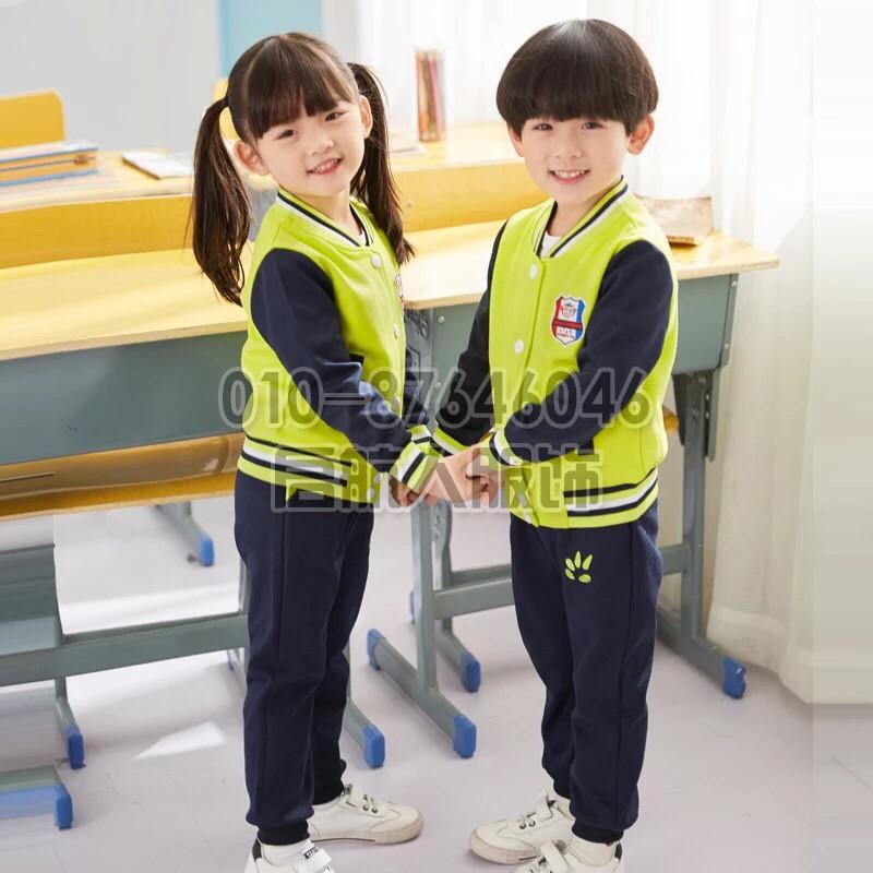 加厚幼儿园园服,运动套装,班服,圆领,幼儿园班服